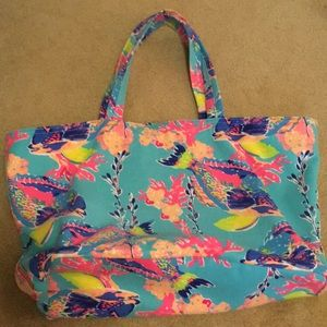 Lilly Pulitzer Canvas Bag